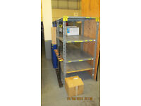 Dexion workshop garage shelving racking units 920x920mm shelves