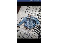Girls denim jacket from next