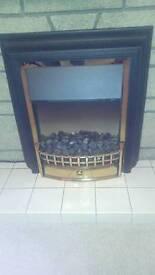Electric coal fire