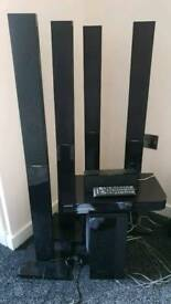 Samsung 5.1 blueray home cinema system