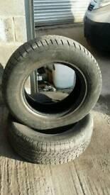 2 tyres Land cruiser 255/5/17