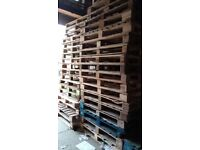 FREE WOODEN PALLETS - READY FOR UPLIFT from Victoria Road, Glasgow