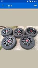 """15"""" vauxhall alloy wheels"""