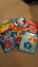 Disney books with CDs for sale