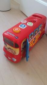 Vtech childs playtime bus as new not played with