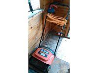 Electric Black and Decker scarifier