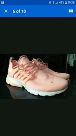 Nike air presto trainers size 7.5 uk