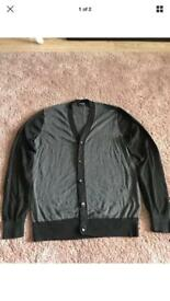 DKNY men's cardigan brand new size small