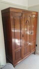 Bedroom suite. Lovely, antique Edwardian mahogany 4 piece suite in good condition