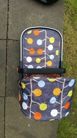 Cosatto giggle travel with isofix base