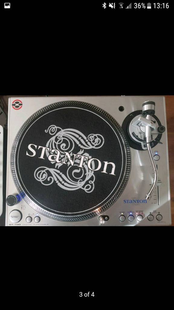Stanton St 100 mixer free