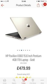 HP pavillon laptop