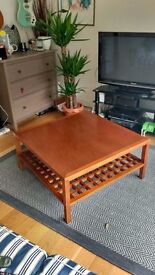 Large coffee table, solid wood