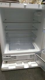 Neff fully integrated undercounter fridge.
