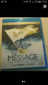 Blu-Ray DVD Called The Message.The Story Of Islam.