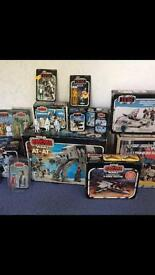 Vintage Star Wars & Toys Wanted