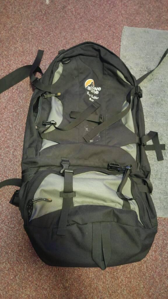 Lowe Alpine Travel Trekker Bag Backpack 60 litres