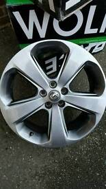 Vauxhall mokka 18 inch dark gray siiver