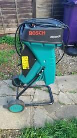 Bosch 2000HP AXT branch shredder