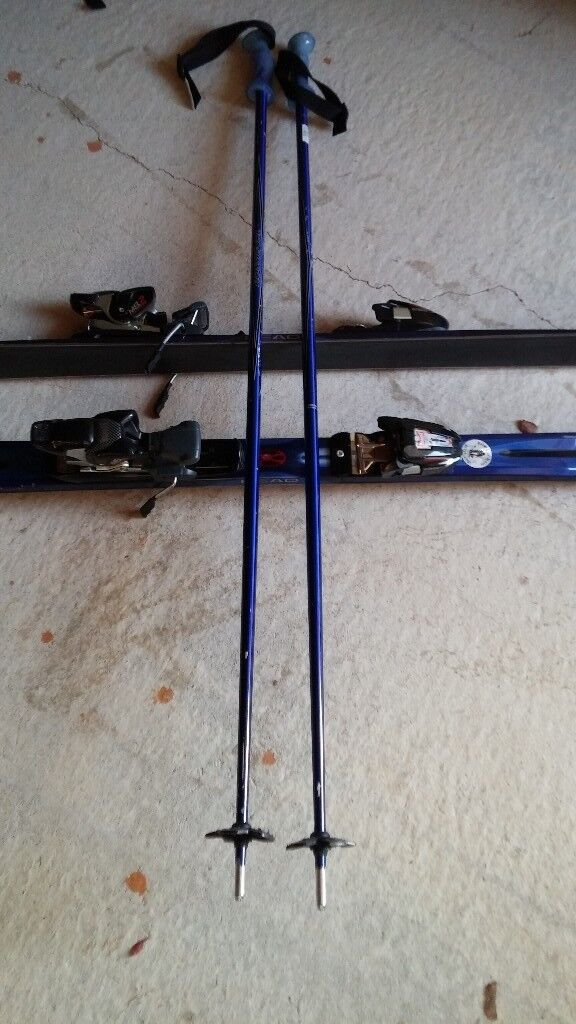 Mens skis, boots, poles and bags for sale