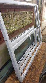 French doors upvc with upper windows