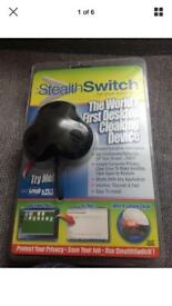 Brand New stealth switch cloaking device