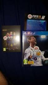 Fifa 18 ps4 brand new with digital content