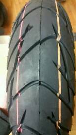 PIAGGIO FRONT AND REAR TYRE