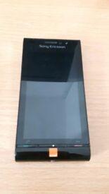 Sony Ericsson Satio U1i mobile phone with charger - Christmas Gift Idea