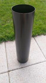 5' x 500mm long vitreous flue pipe as new