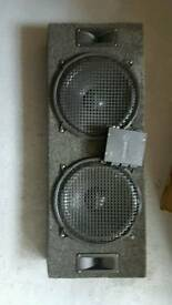 """Sub Woofer and Amp - Two 12"""" Sub Woofer - Class D Amp"""