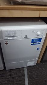 New graded Indesit tumble dryer 7kg condenser for sale in Coventry 12 month warranty