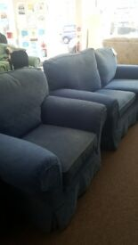 2 seater + armchair
