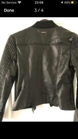 DKNY LEATHERs JACKET size 10
