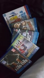 FIFA 16, BLACK OPS 3 AND 3 BLURAY DVDS