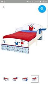 Toddler bed without mattress
