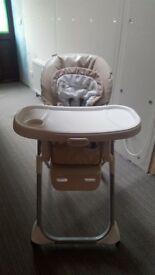 Graco duodiner benny and bell highchair