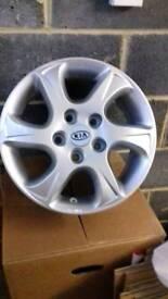 Hyundai/Kia Alloy wheels 6,OJx15H2