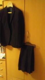 Dark navy Prom suit