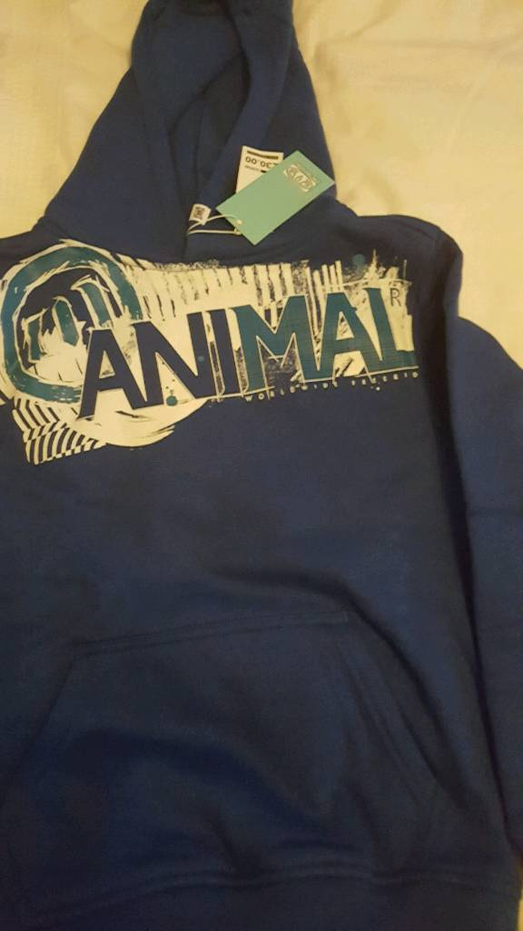 Youths Animal hoodie 9-10 yrs