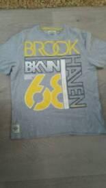 BROOK HAVEN t shirt. Size L.