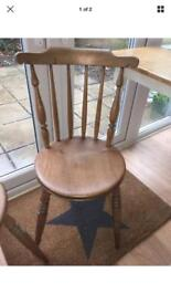 Antique Spindleback Kitchen / Dining Chairs