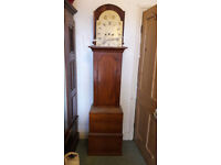Grandfather clock (1800s) by lowman of Ramsgate- not complete