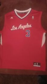 NEW!!! CHRIS PAUL LOS ANGELES CLIPPERS JERSEY SIZE L!!!