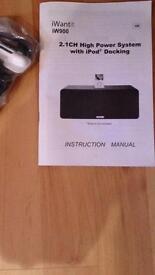 iWantit Docking speaker station