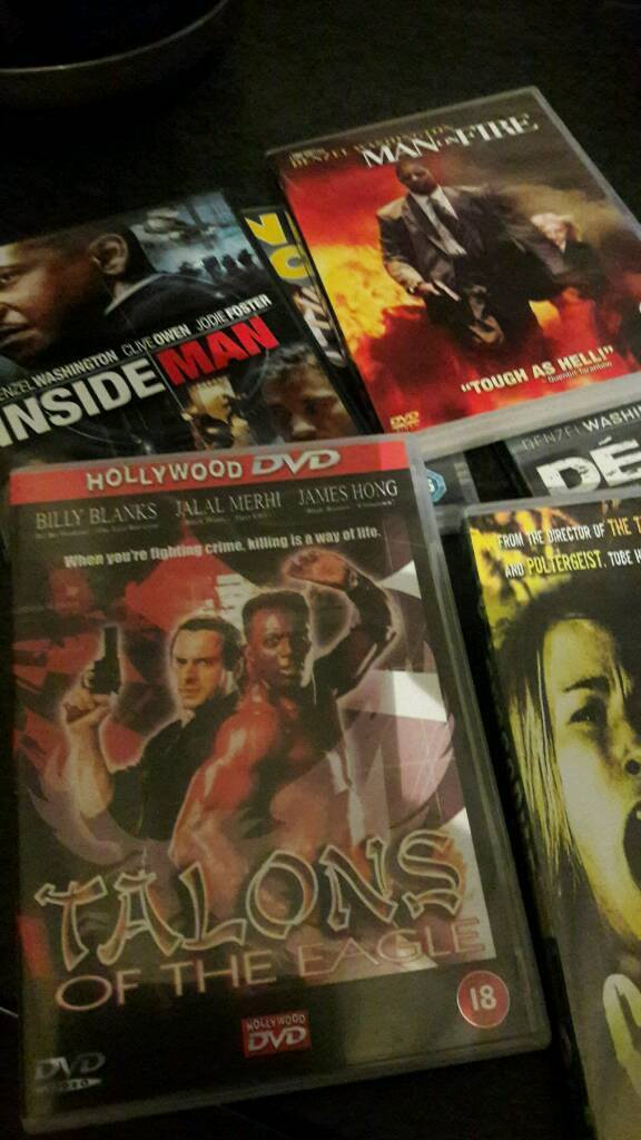 Dvds bundle 19 Action ones £5-00