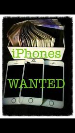 iPhones wanted!!!!