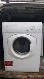 7 kg lndesit vented tumble dryer hardly used in great condition fully working