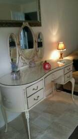 Vintage Louis Style Dressing Table