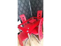 Beautiful table and chairs 130pound